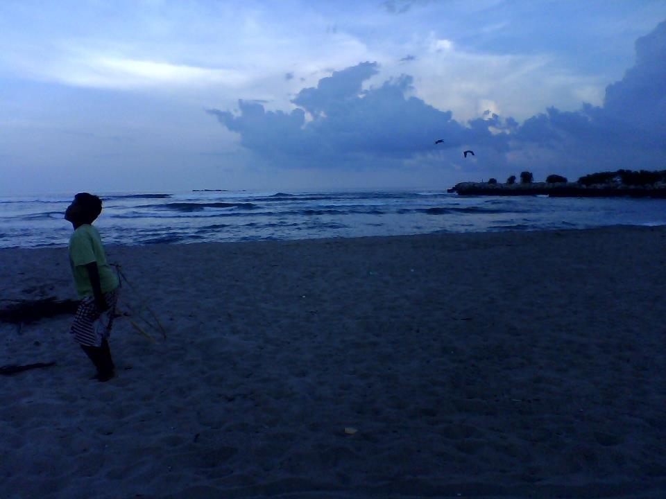 Atardecer en playa Chacahua